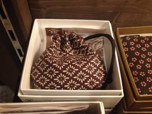 "The traditional Japanese gift""INDEN""at KADOYA HOTEL.~Chrysanthemum・Checkered pattern~"