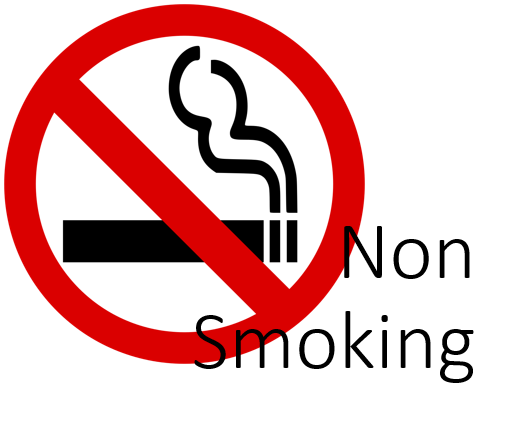 Non-smoking rooms plan