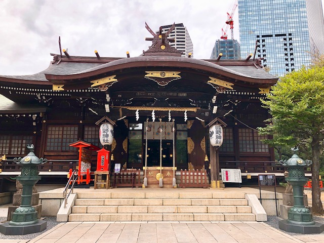 ENJOY SHINJUKU WALKING—KUMANO SHRINE & SHINJUKU CHUO PARK—