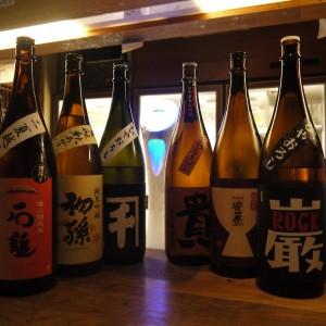 新宿個室居酒屋旅籠 紅葉のこの時期ならではの日本酒ひやおろし祭り