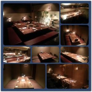 忘年会の予約はお早めに!西新宿個室居酒屋旅籠