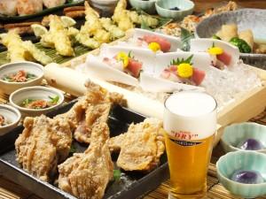 新宿個室居酒屋エクストラコールドで暑気払い!!