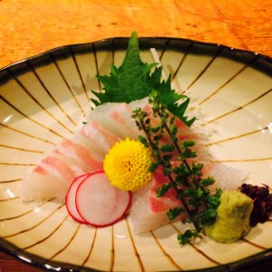 新宿個室居酒屋はたごで桜鯛のお刺身はいかがですか?