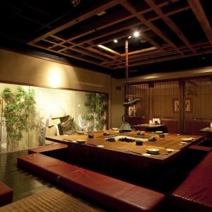 西新宿個室居酒屋、旅籠で新人歓迎会!