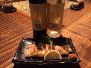 西新宿個室居酒屋旅籠でワイン!