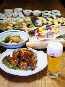 新宿個室居酒屋 新じゃがと若鶏の治部煮の宴会特別メニュー