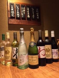 西新宿個室居酒屋旅籠のワイン新ラインナップ!