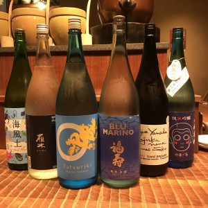 新宿個室居酒屋はたごに夏酒が続々入荷中!