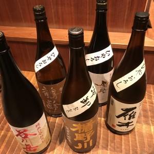 ひやおろしが沢山揃った新宿の個室居酒屋はたご