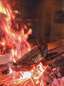 新宿個室居酒屋でかつおの藁焼きフェアー開催中
