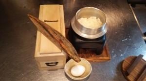 西新宿旅籠で新米のこしひかりの釜炊きご飯は、いかがでしょうか?