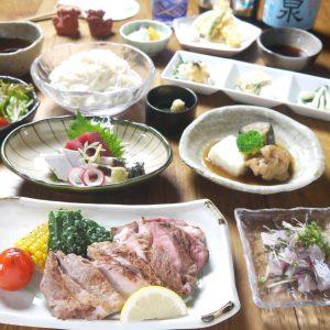 西新宿はたごであぐー豚の炭火焼ステーキコースは、いかがでしょうか?