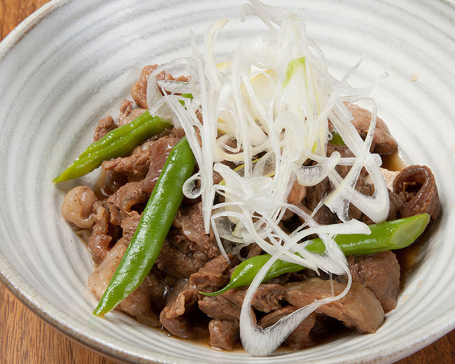 生産者応援プロジェクト対象商品のため半額で提供  飛騨牛肉豆腐