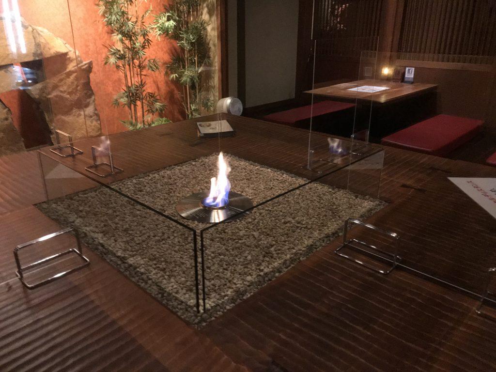 新宿個室居酒屋はたごのいろり席で美味しい和食とお酒を