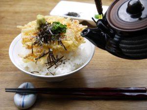 西新宿個室居酒屋はたごのランチ!(大海老3本天丼)を召しあがりませんか?