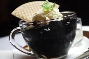 新宿カフェ、新メニュー、コーヒーゼリー