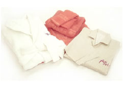All new soft textured terrycloth towels