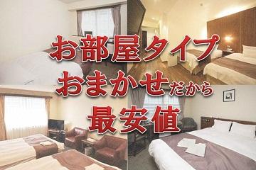当日限定!最安値!アクセス抜群!!新宿かどやホテルの部屋タイプおまかせプラン