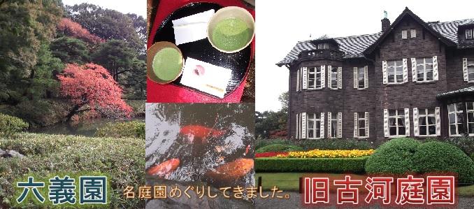 新宿からすぐ!秋の庭園に行って来ました!「六義園」と「旧古河庭園」in 駒込
