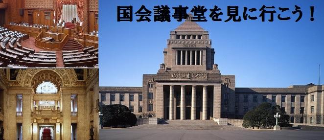 新宿から東京観光♪国会議事堂見学から皇居・丸の内までのお散歩観光
