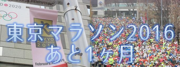 東京マラソン2016まであと1ヶ月!都庁まで徒歩5分