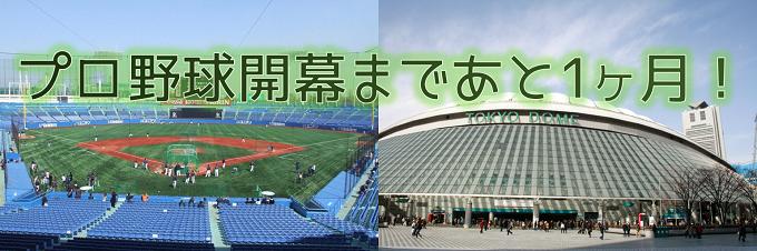 2016セ・リーグ開幕まであと少し!東京ドームは読売ジャイアンツ vs 東京ヤクルトスワローズ