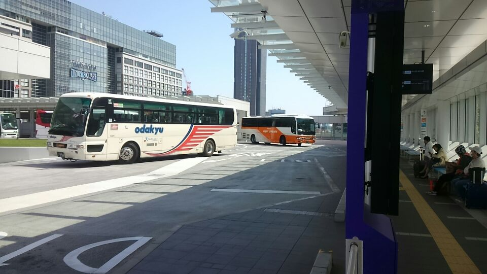 かどやホテルからバスタ新宿まで徒歩約10分 新宿からバスで全国各地へ♪